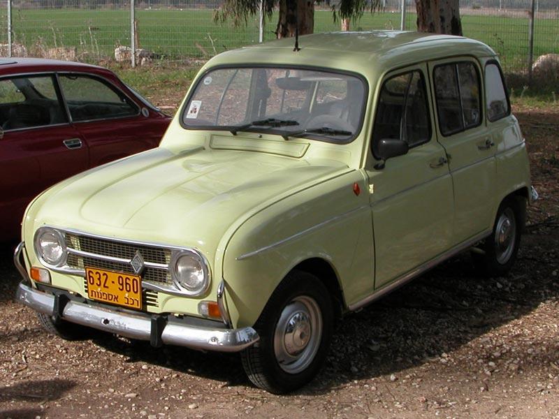 Rams Renault 4 Renault 4 In Israel